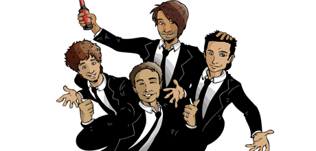 Comicsus Personalised Group Illustrations