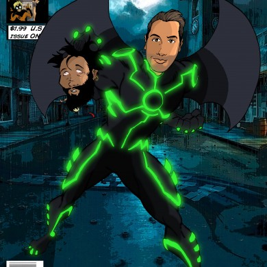 IronBat Super Hero, Comicsus