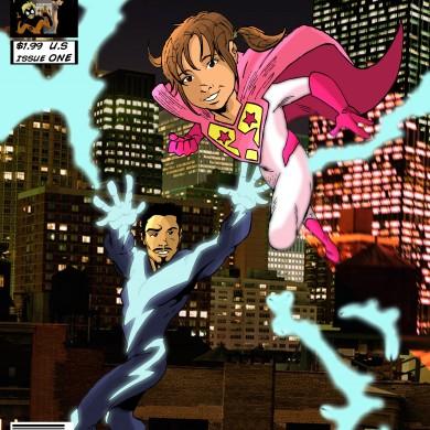 High Voltage, Comicsus