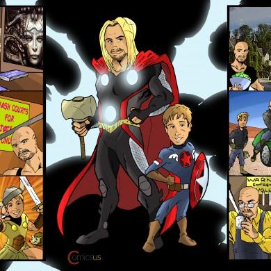 Story of my Boys - Comicsus