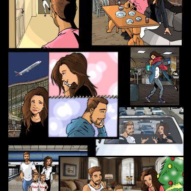 Steven's Story, Comicsus