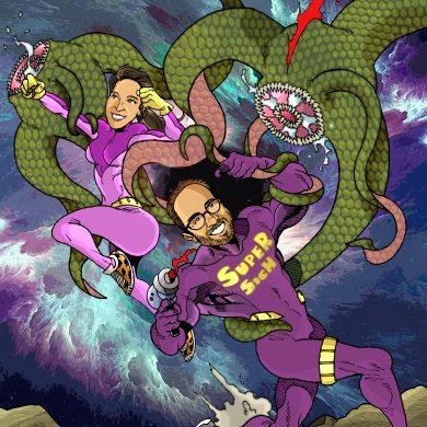 Super Sich, Comicsus
